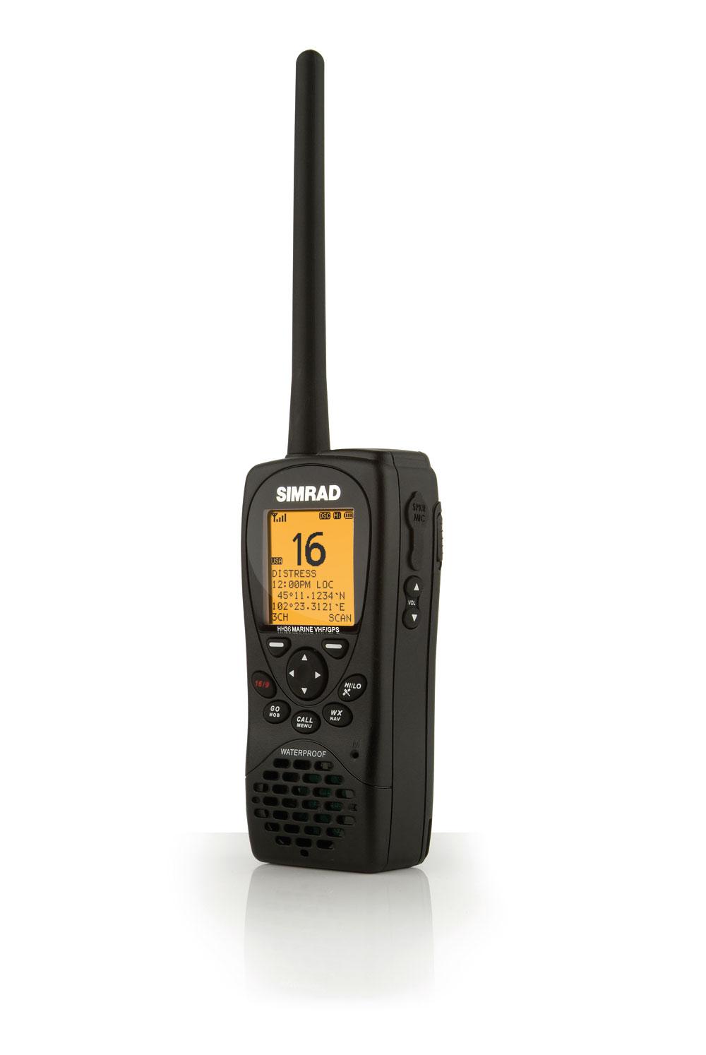 VHF HH36 de Simrad