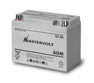 Batería Mastervolt Plomo-Ácido de 55 Ah sin mantenimiento