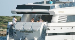 Fortuna. Popa y Flybridge. Fuente Europa Press.