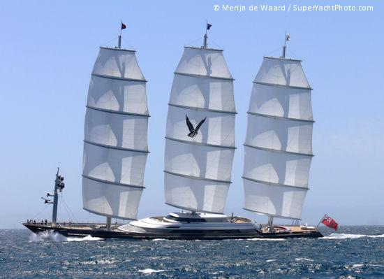 El Halcón Maltés. Fuente Super Yacht Times