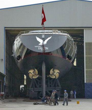 El Halcón Maltés. Fuente Yacht Forums