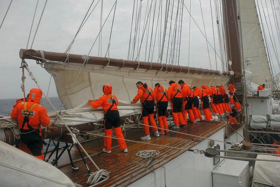 Juan Sebastián de Elcano. Maniobra Gral. Fuente AE.
