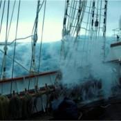 Juan Sebastián de Elcano. Temporal. Fuente AE.