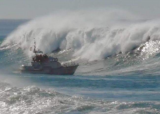 barco pasar por ojo
