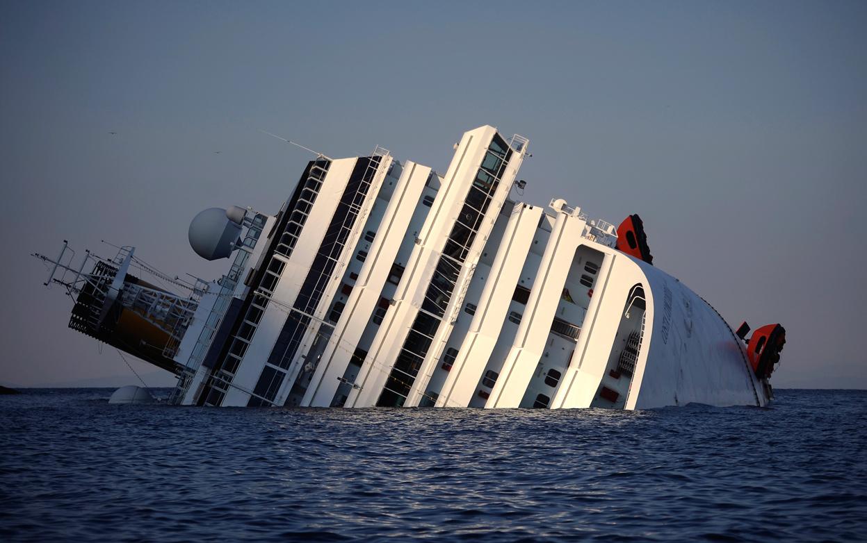 Costa Concordia. Fuente The Atlantic