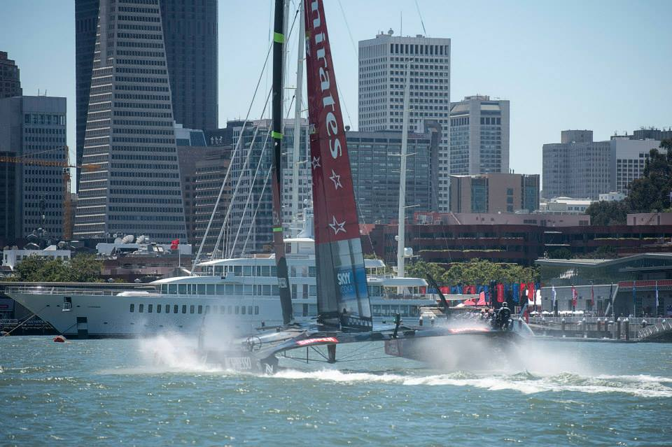 Emirates Team New Zealand. Fuente ETNZ