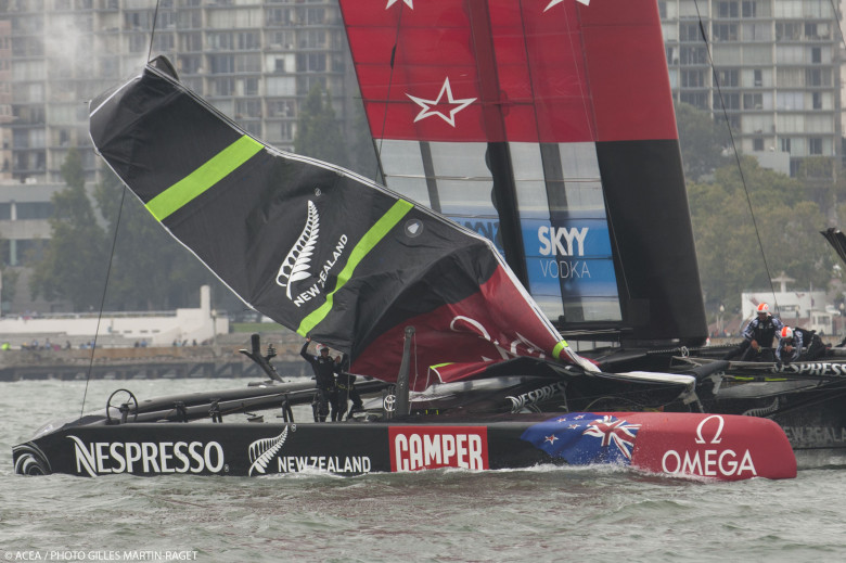 Emirates Team New Zealand. Fuente AC