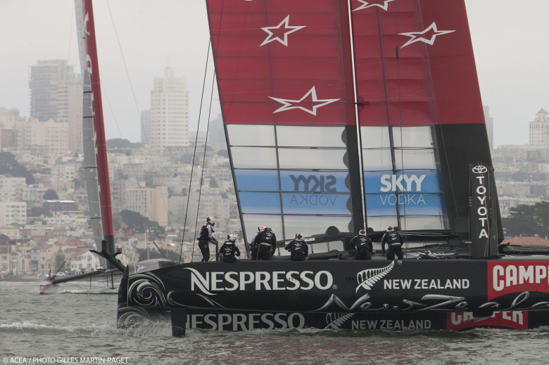 Emirates Team New Zealand. Fuente AC.