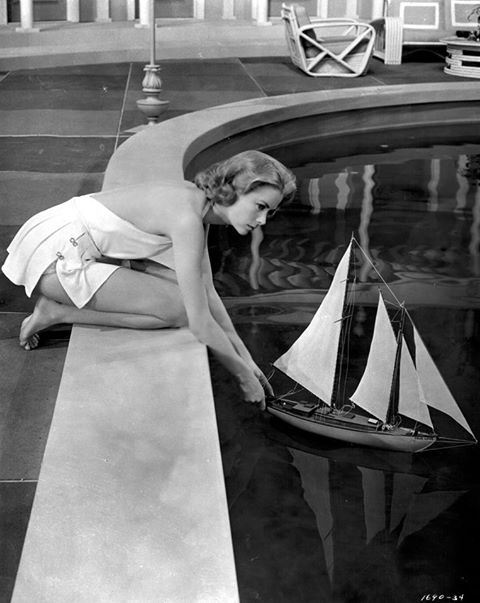 El Moonbeam IV, el velero de Grace Kelly.