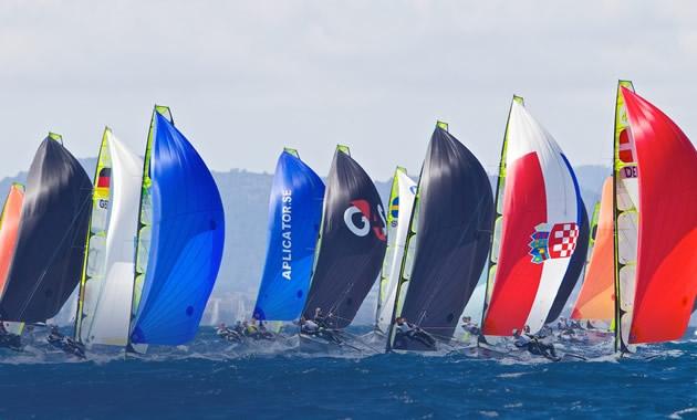 santander 2014,  cuarta edición del Campeonato Mundial de Vela Olímpica