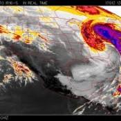 satelite meteorologico para la navegación