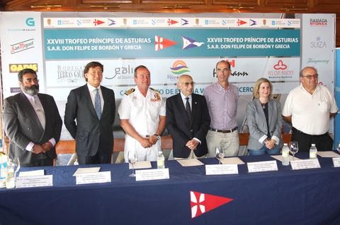 Presentacion de la XVIII Ed. del Trofeo Príncipe de Asturias