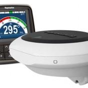 Display y sensor EV-400 Vela. Fuente Raymarine