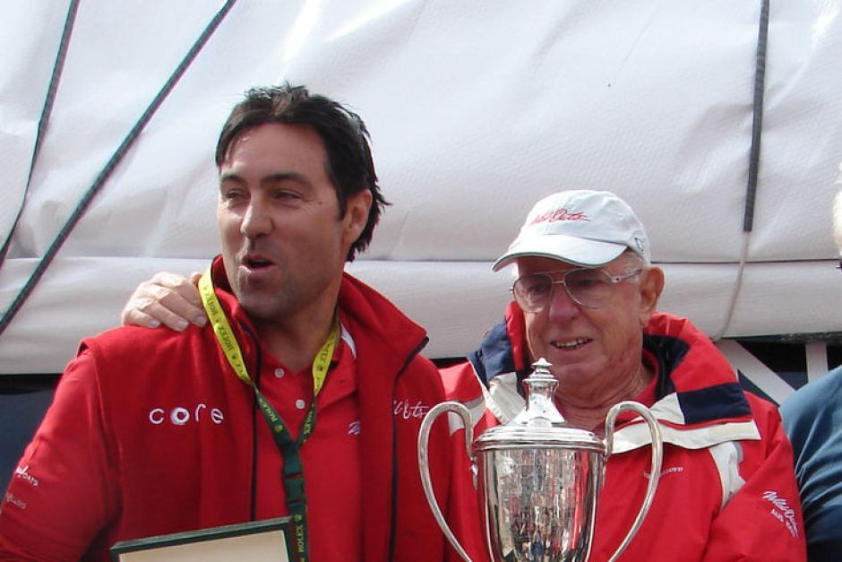 Oatley y Mark Richards, Skipper del Wild Oats XI
