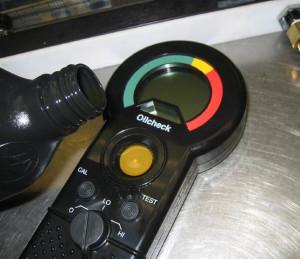 Analizador portátil de aceite