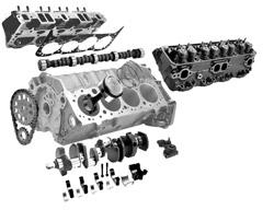 Elementos internos de un  motor