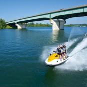 moto agua puente