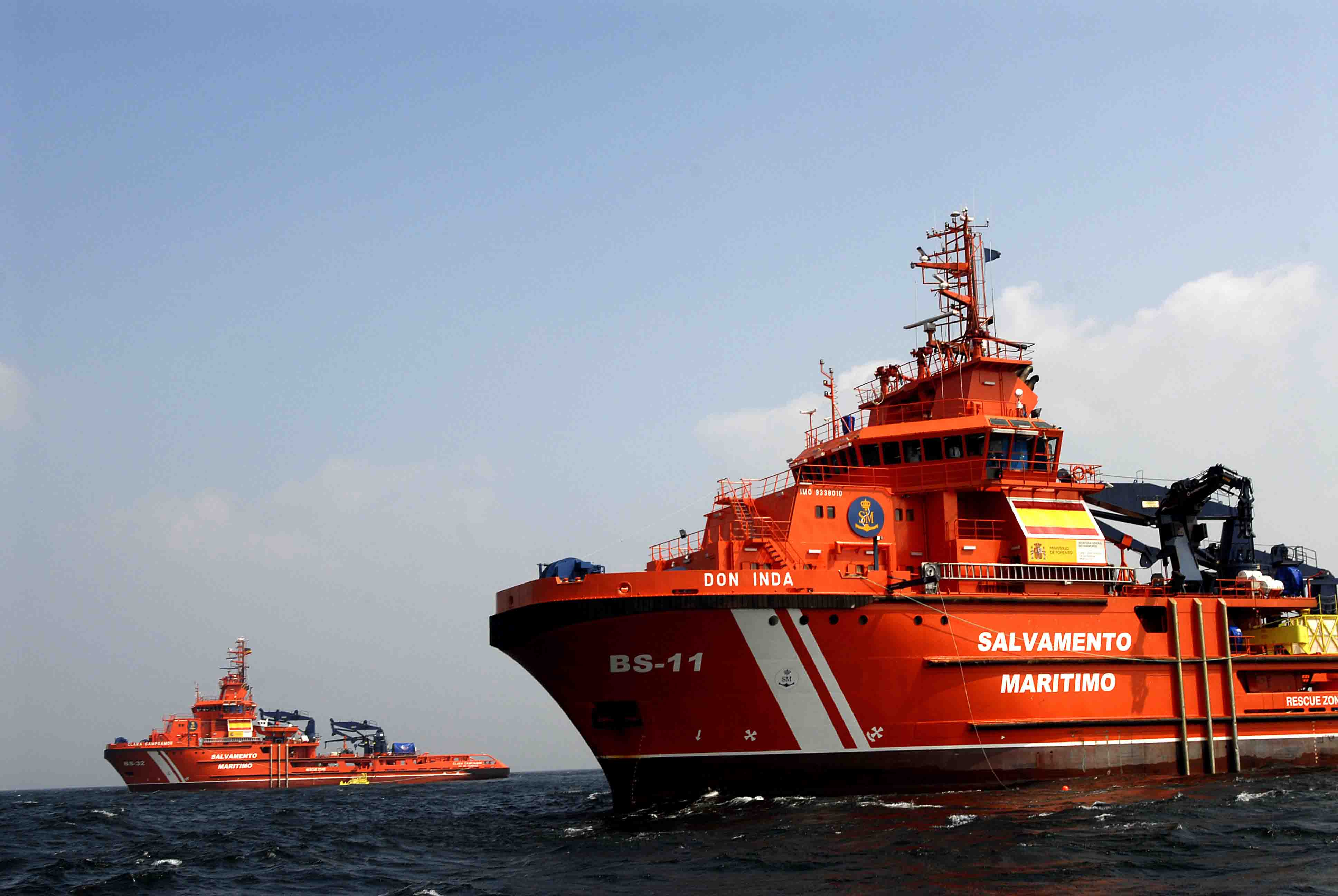 Buques-salvamento marítimo dos