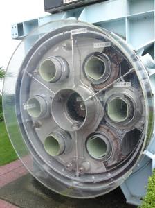 Conductos de salida del MHD del Yamato I