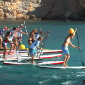 gourmet race paddle surf