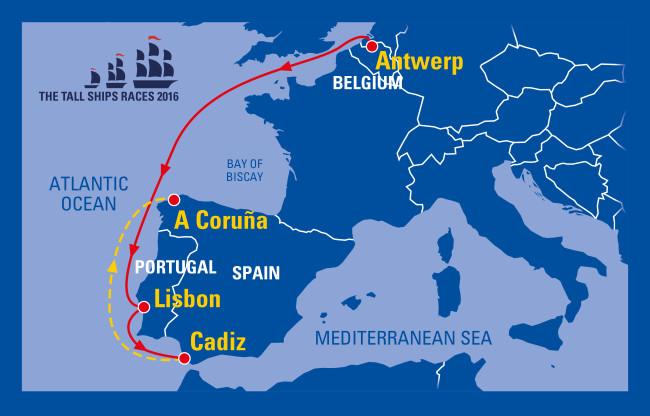 gran regata 2016 mapa